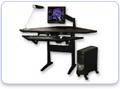 Diagonal Corner Desk