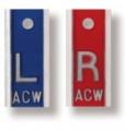 Aluminum Backed X-Ray markers (1 set)