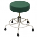 """Non-Magnetic MRI Adjustable Stool, 15"""" to 21"""" with Rubber Tips"""